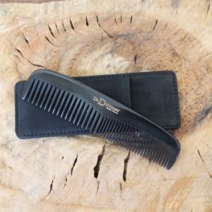 D.R. Dittmar - Black Genuine Horn Handmade Comb